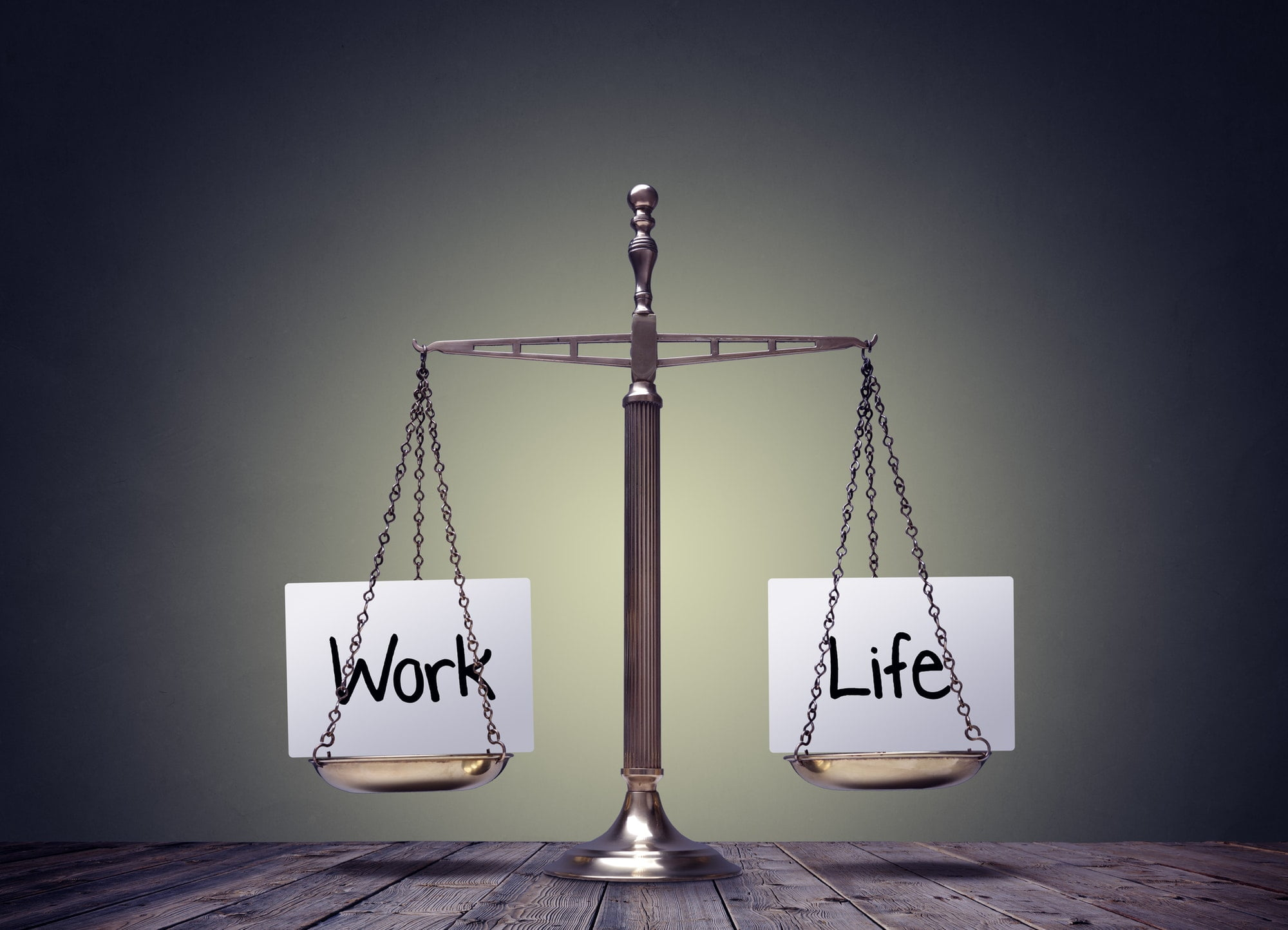 Work life balance scales